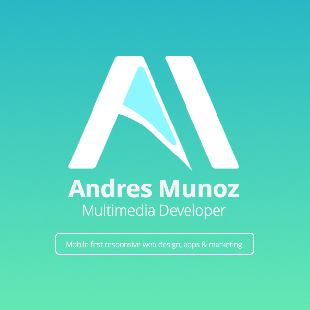 Andres Munoz Multimedia Developer!