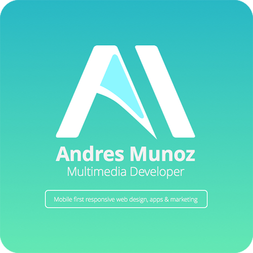 Andres Munoz Multimedia New Business Cards